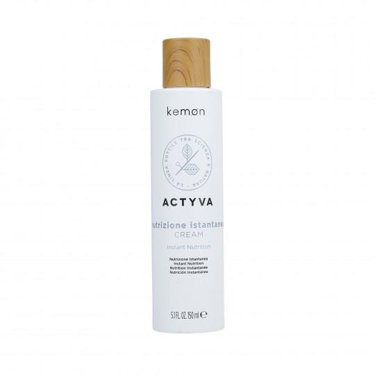 KEMON ACTYVA NUTRIZIONE ISTANTANEA Crema per capelli secchi 150ml - 1