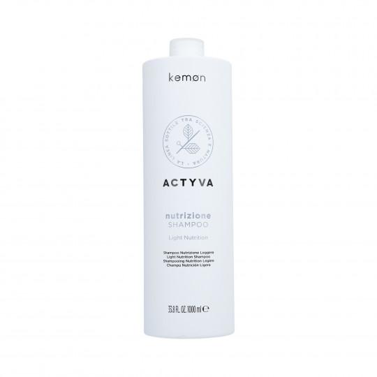 KEMON ACTYVA NUTRIZIONE Shampoo per capelli secchi 1000ml - 1