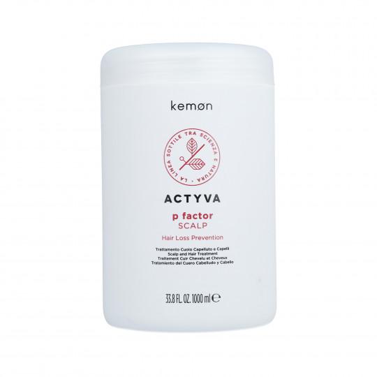 KEMON ACTYVA P FACTOR Trattamento anticaduta 1000ml - 1