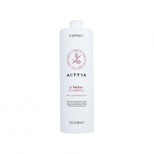 KEMON ACTYVA P FACTOR Shampoo per capelli tendenti alla caduta 1000ml - 1