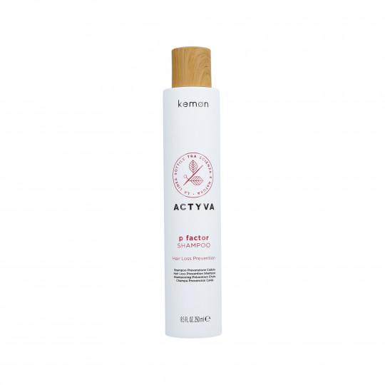 KEMON ACTYVA P FACTOR Shampoo per capelli tendenti alla caduta 250ml - 1