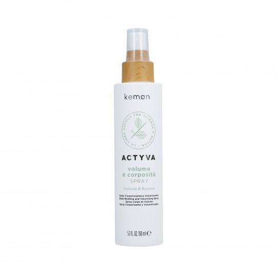 KEMON ACTYVA VOLUME & BOUNCE Spray volumizzante per capelli 150ml - 1