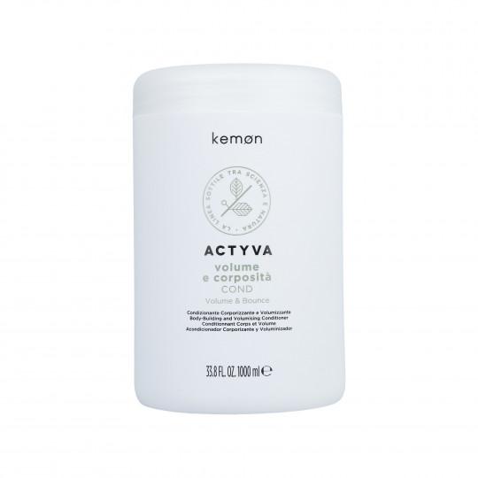 KEMON ACTYVA VOLUME & BOUNCE Conditioner per capelli senza volume 1000ml - 1