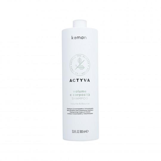 KEMON ACTYVA VOLUME & BOUNCE Shampoo per capelli senza volume 1000ml - 1