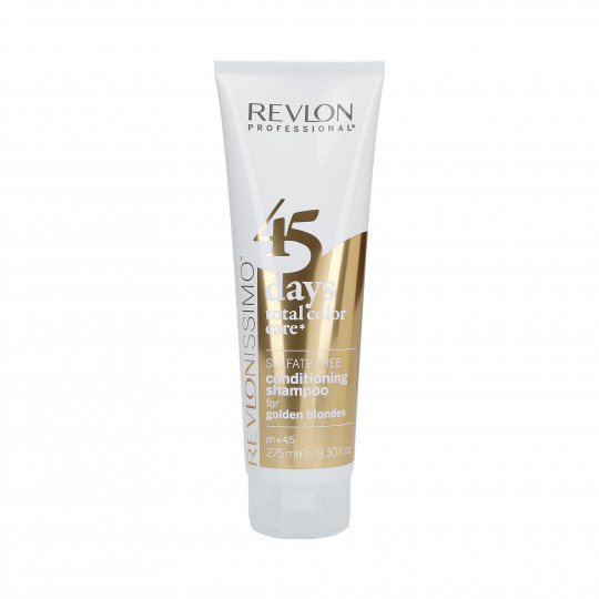 REVLON REVLONISSIMO 45 DAYS Golden Blondes Shampoo e balsamo colore 275ml - 1