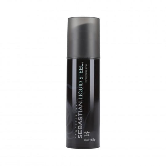 SEBASTIAN FORM LIQUID STEEL Gel per capelli a fissaggio forte 140ml - 1