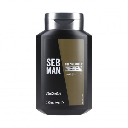 SEBASTIAN SEB MAN Balsamo lisciante per capelli 250ml - 1