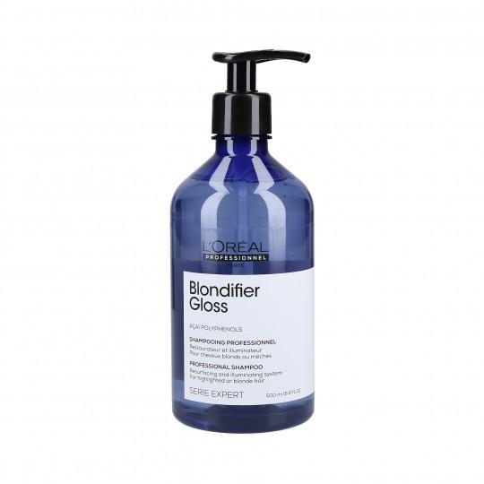 L'OREAL PROFESSIONNEL BLONDIFIER GLOSS Shampoo per capelli biondi 500ml - 1