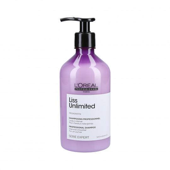 L'Oréal Professionnel Serie Expert Liss Unlimited Shampoo 500ml - 1