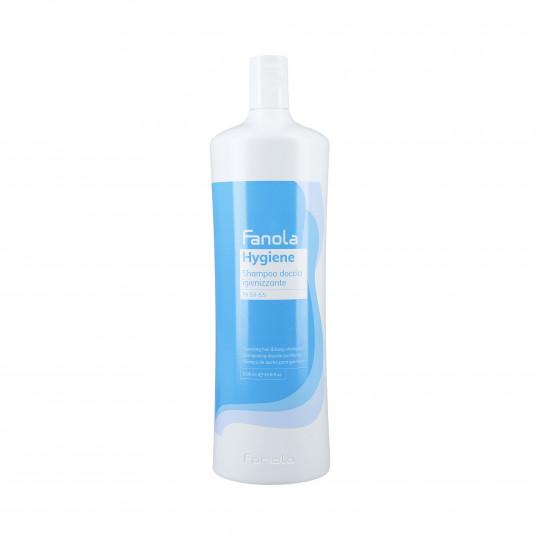 FANOLA HYGIENE Shampoo detergente per capelli e corpo 1000ml - 1