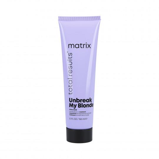 MATRIX TOTAL RESULTS Unbreak My Blonde Trattamento senza risciacquo 150ml - 1