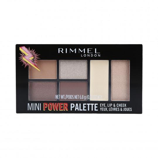RIMMEL MINI POWER PALETTE 002 SASS 7,82G
