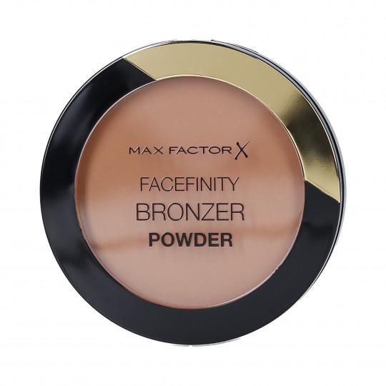 MAX FACTOR FACEFINITY Terra opaca abbronzante viso 01 Light Bronze - 1
