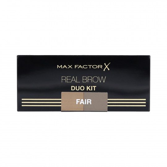 MAX FACTOR REAL BROW DUO KIT Palette per sopracciglia 01 Fair - 1