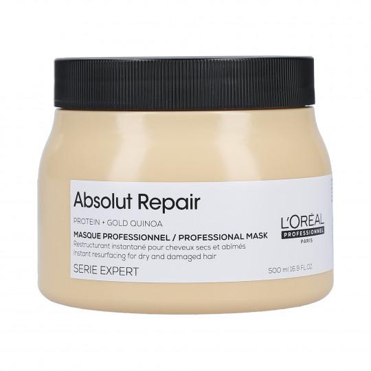 L'OREAL PROFESSIONNEL SE ABSOLUT REPAIR Gold Quinoa+Protein Maschera rigenerante 500ml