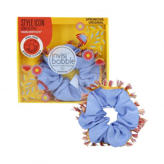INVISIBOBBLE SPRUNCHIE Elastico per capelli in velluto Flores & Bloom Hola Lola