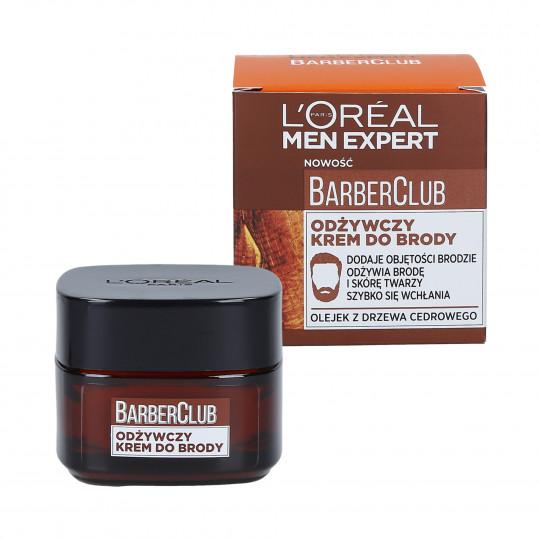 L'OREAL PARIS MEN EXPERT BARBER CLUB Crema nutriente per barba 50ml - 1