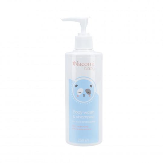 NACOMI BABY Bagnoschiuma e Shampoo per bambini e neonati 250ml - 1