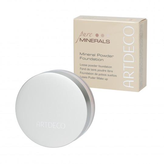 ARTDECO Pure Minerals Fondotinta in polvere 3 Soft Ivory 15g - 1