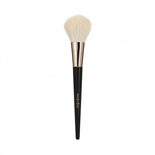 Kashōki 204 Pennello Piatto Kabuki Per Cosmetici In Polvere - 1